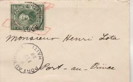 Haïti Lettre De Port Au Prince 7/2/1928 Pour EV - Haïti