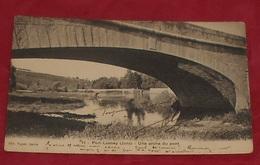 39 - Port Lesney - ( Jura ) - Une Arche Du Pont ::: Animation Lavandière    --------------- 487 - France