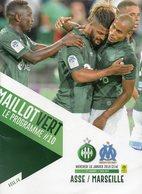 Programme Du Match ASSE Marseille Du 18 Janvier 2019 - Habillement, Souvenirs & Autres