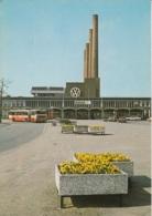 Omnibus,Wolfsburg,Blick Zum Bahnhof Und Volkswagenwerk, Ungelaufen - Bus & Autocars
