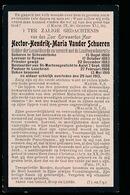 PASTOOR LOCHRISTI  HECTOR VANDER SCHEUREN - SCHENDELBEKE 1860 - LOCHRISTI 1913 - Décès