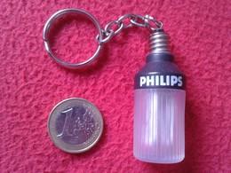 LLAVERO KEYRING KEYCHAIN PORTE-CLÉS LIGHTBULB BOMBILLA LAMPE AMPOULE LUZ ENERGÍA LIGHT BULB BOMBILLAS PHILIPS VER FOTOS - Autres Collections