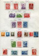 11286  DANEMARK  Collection Vendue Par Page  °/ *  1943-47   B/TB - Danemark