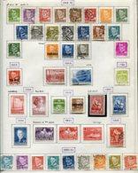 11287  DANEMARK  Collection Vendue Par Page  °/ *  1948-51   B/TB - Danemark