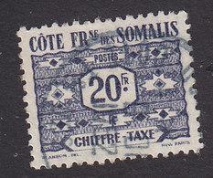 French Somali Coast, Scott #J48, Used, Postage Due, Issued 1947 - French Somali Coast (1894-1967)