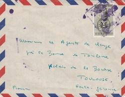 Vénézuela Lettre Avion De CARACAS   Pour Toulouse Haute Garonne France - Venezuela