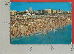 CARTOLINA VG ITALIA - RIMINI - Panorama Della Spiaggia - 10 X 15 - ANN. 1979 XIX GIORNATA FRANCOBOLLO - Rimini