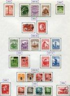 11288  DANEMARK  Collection Vendue Par Page  °/ *  1953-56   B/TB - Danemark