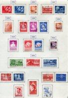 11289  DANEMARK  Collection Vendue Par Page  °/ *  1956-60   B/TB - Danemark