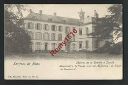 Château De La Prévôté à Sirault - Douairière De Rousseaux De Médrano Du Sart De Bouland. Nels Série 107, N°64. 2 Scans. - Saint-Ghislain