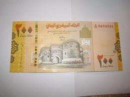 -----1- Billet 200 RIALS YEMEN CITADELLE ZBEID NEW NOUVEAU  NEUF- - Yémen