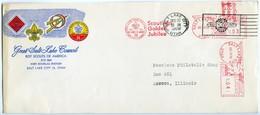 United States Of America. Boy Scouts Envelope. VF. - Sobres De Eventos