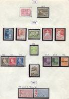 11292  DANEMARK  Collection Vendue Par Page  **/ */°  1964-66   B/TB - Danemark