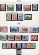 11293  DANEMARK  Collection Vendue Par Page  **/ *  1966-67   B/TB - Danemark