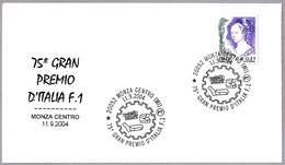 75 GRAN PREMIO DE ITALIA De FORMULA 1. Monza, Milano, 2004 - Automovilismo