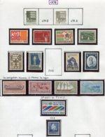 11296  DANEMARK  Collection Vendue Par Page  (*)/ */**/ °  1970    TB - Danemark