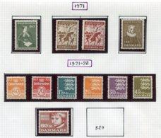 11297  DANEMARK  Collection Vendue Par Page  */(*)  1971-72    TB - Danemark
