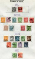 11300  DANEMARK  Collection Vendue Par Page  °/* Timbre De Service  1871-1917      B/TB - Danemark