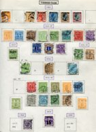 11301  DANEMARK  Collection Vendue Par Page  °/* Timbre - Taxe  1921-1953      B/TB - Lotes & Colecciones