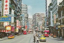 Omnibus,Doppeldecker,Jordan Road In Kowloon,Hong Kong, Gelaufen - Bus & Autocars