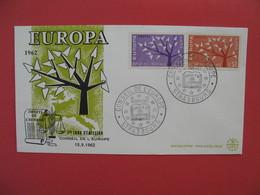 FDC 1962   Europa  -  Cachet   Conseil De L'Europe  - Strasbourg    à Voir - 1960-1969