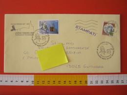 A.09 ITALIA ANNULLO - 1997 LIVORNO FERRARIS VERCELLI 100 ANNI MORTE GALILEO FERRARIS FISICO SCIENZA CAMPO MAGNETICO FDC - Fisica