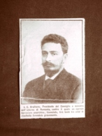 Ion I. C. Bratianu ?tef?ne?ti, 20 Agosto 1864 � Bucarest, 24 Novembre 1927 - Découpis