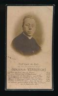 PASTOOR DESTELBERGEN  BENJAMIN VERBURGHT  GENT 1854 -  DESTELBERGEN 1915 - Décès