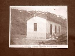 In Eritrea Nel 1910 La Stazione Ferroviaria In Muratura Di Embatkalla Africa - Découpis