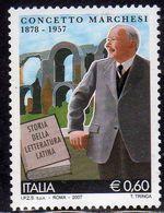ITALIA REPUBBLICA ITALY REPUBLIC 2007 CONCETTO MARCHESI MNH - 6. 1946-.. Repubblica