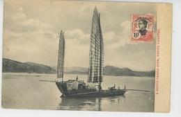 ASIE - CHINE - CHINA - A Coton Cargo Junk , UPPER YANGTSE - Chine