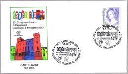 80 CONGRESO ITALIANO DE ESPERANTO. Castellaro, Imperia, 2013 - Esperánto