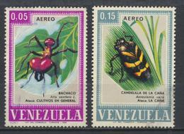 °°° VENEZUELA - Y&T N°947/48 PA - 1968 °°° - Venezuela