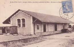 CPA (81) SAINT SULPICE Société Fers Et Quincailleries Du Midi Bureaux Et Magasins (2 Scans) - Saint Sulpice