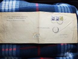 (18095) STORIA POSTALE ITALIA 1967 - 6. 1946-.. Repubblica