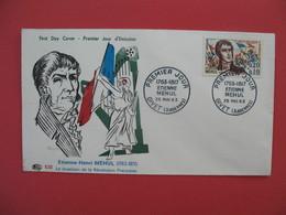 FDC 1963   Etienne-Henri Méhul   -  Cachet  Etienne-Henri Méhul  Givet     à Voir - 1960-1969