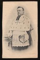 MGR.ANTONIUS STILLEMANS - ST.NIKLAAS 1832 - GENT 1916   2 SCANS - Décès