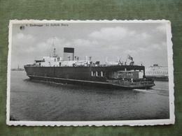 ZEEBRUGGE - LE SUFFOLK FERRY 1963 ( Scan Recto/verso ) - Zeebrugge