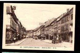 57 - SAINT AVOLD (Moselle) - Route De Metz - Boucherie Charcuterie Bernard Petry -  Phototypie - Saint-Avold