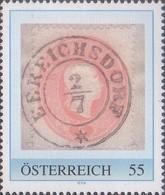 Stempel Ebreichsdorf, Pers.BM, Bogennummer 8026123** - Österreich