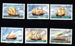 Sao Tome En Principe: 1979 Mi Nr  598 - 603, Zeilschip, Sail - Sao Tome En Principe