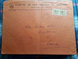 (18099) STORIA POSTALE ITALIA 1961 - 6. 1946-.. Repubblica