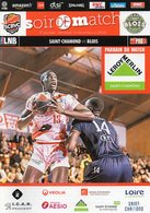 Programme Du Match De Pro B , SAINT CHAMOND - Blois Du 14 Décembre 2018 - Habillement, Souvenirs & Autres