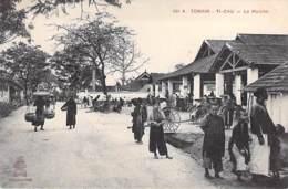 VIETNAM Viet Nam ( Tonkin ) TI-CAU : Le Marché ( Bonne Animation ) - CPA - ASIE Asia - Viêt-Nam