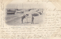 Berck ,la Plage ,de 1899 , 2 Scans - Berck