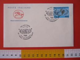 A.09 ITALIA ANNULLO - 1995 MILANO FIERA 50 ANNI FONDAZIONE ONU O.N.U. NAZIONI UNITE FDC - ONU