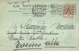 """2669 """" LO SPETTACOLO-GIORNALE ILLUSTRATO DI ARTE SCENICA - SOLLECITO PER ABBONAMENTO ANNO 1912 """" CART.POST.ORIG.SPEDITA - Commercio"""