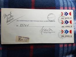 (18104) STORIA POSTALE ITALIA 1970 - 6. 1946-.. Repubblica