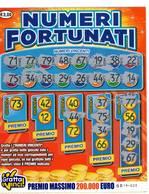 GRATTA E VINCI   - NUMERI FORTUNATI Codice DD NUMERO 16   DA € 3.00 - USATO (SERIE AAMS) - Biglietti Della Lotteria