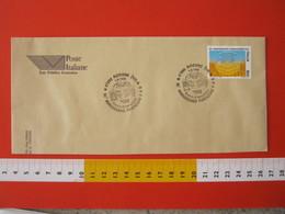 A.09 ITALIA ANNULLO - 1995 RICCIONE RIMINI 50 ANNI FONDAZIONE FAO F.A.O. ORGANIZZAZIONE CIBO ALIMENTAZIONE FDC - Contro La Fame